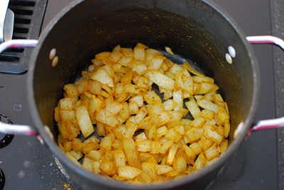 curry onions