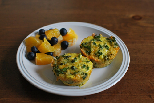 Healthy Plate Happy Family Broccoli, Kale & Cheddar Quinoa Cups