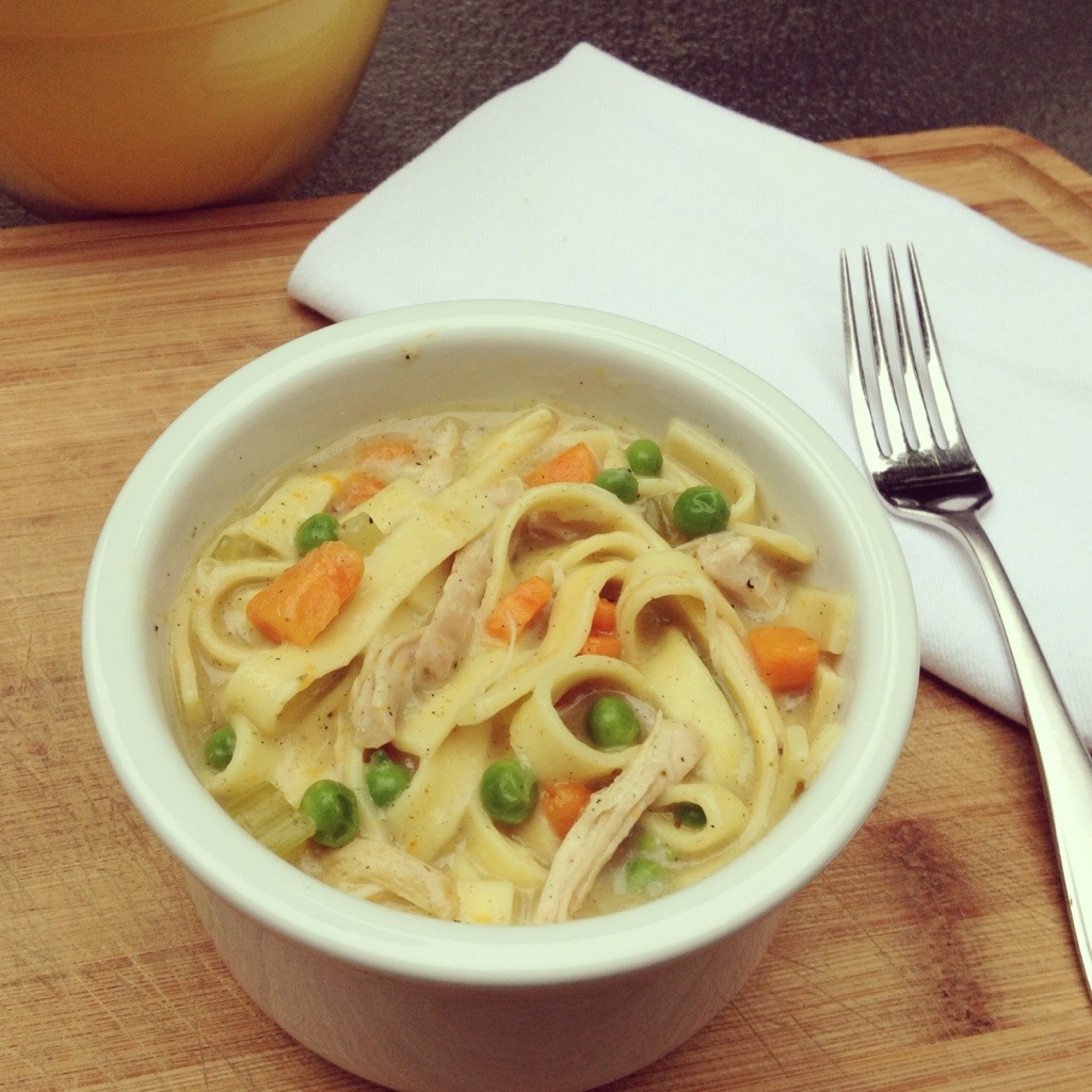 Homestyle Chicken and Noodle Bake