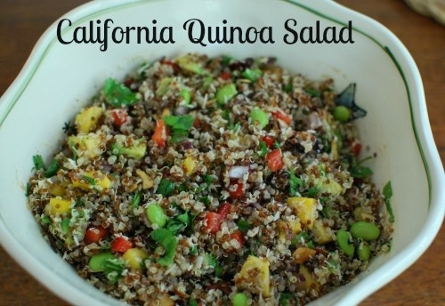 California Quinoa Salad by Healthy Plate Happy Family